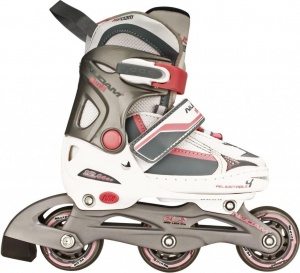 9fc5866445e Nijdam Inline skates semi-softboat girls white - Internet-Sport&Casuals