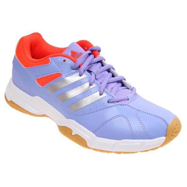 adidas badmintonschoenen Quickforce 3 dames paars maat 44