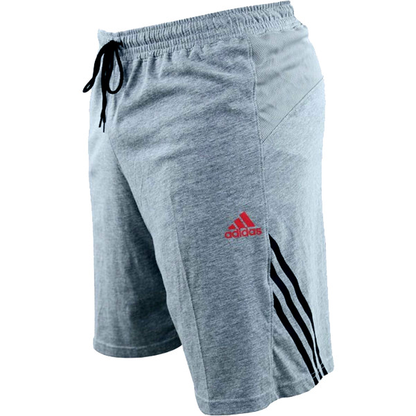 adidas Base trainingshort unisex Grijs maat XS