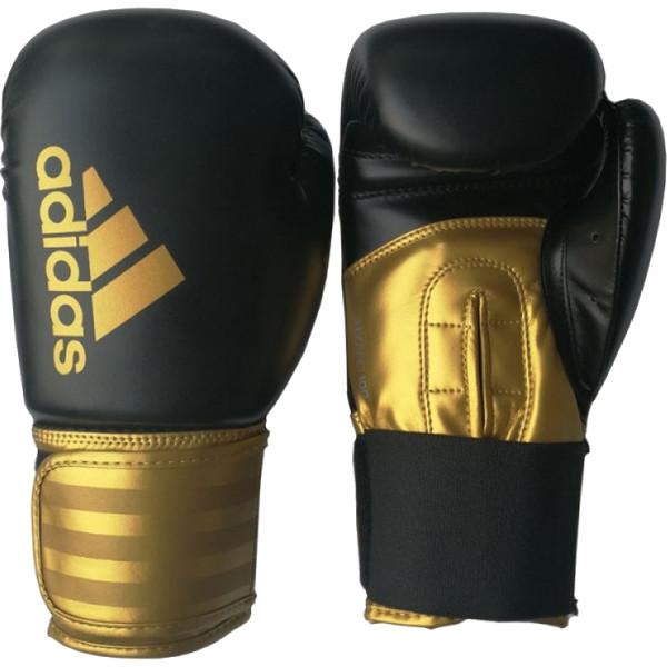 Adidas Hybrid 100 Bokshandschoenen 16oz Zwart-goud