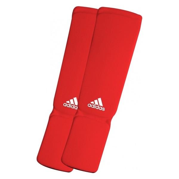 Adidas Elastische Scheenbeschermers Rood L