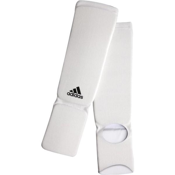 Adidas Elastische Scheenbeschermers Wit L