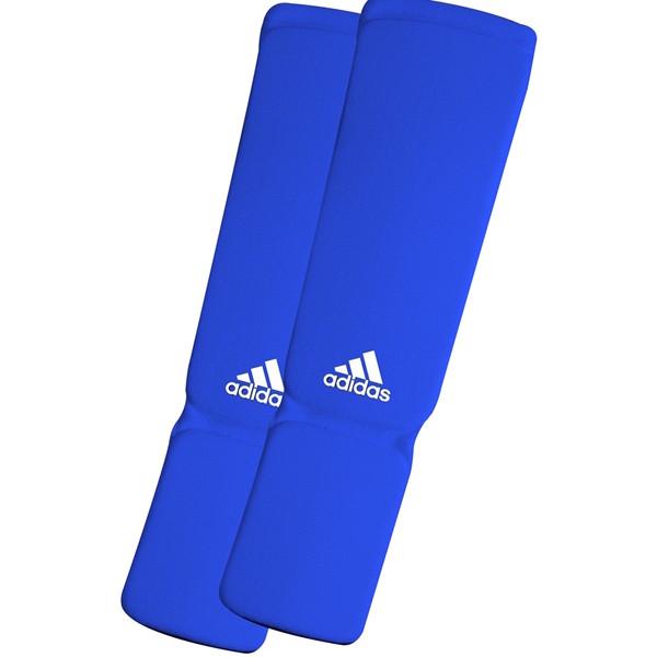 Adidas Elastische Scheenbeschermer Blauw M