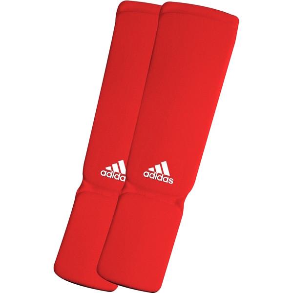 Adidas Elastische Scheenbeschermers Rood S
