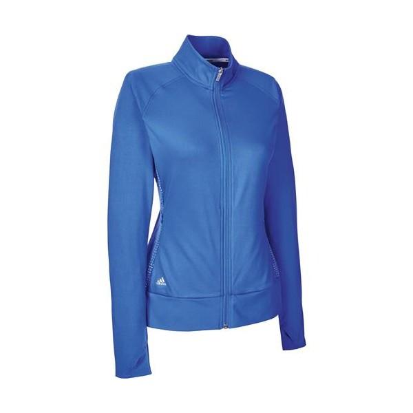 adidas golfjack Rangewear dames blauw maat XS