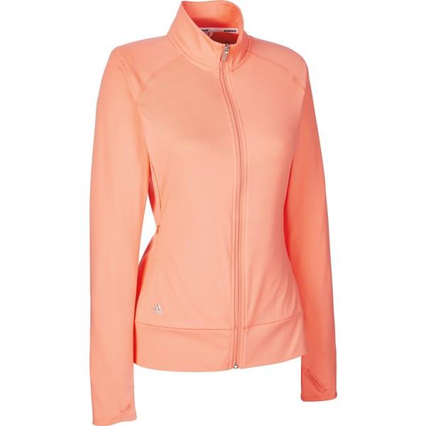 adidas golfjack Rangewear dames zalmroze maat XS
