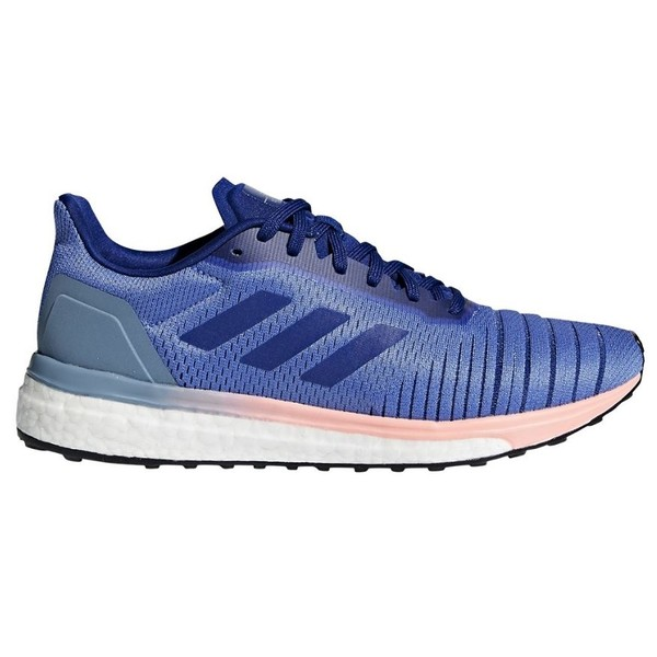 adidas Women's Solar Drive Running Shoes Lilac-Ink US 6-UK 4.5 Purple-Blue