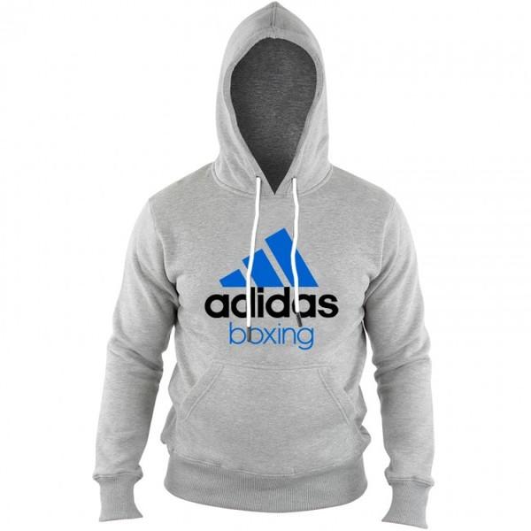 adidas hoodie Community Boxing heren grijs-blauw maat XS