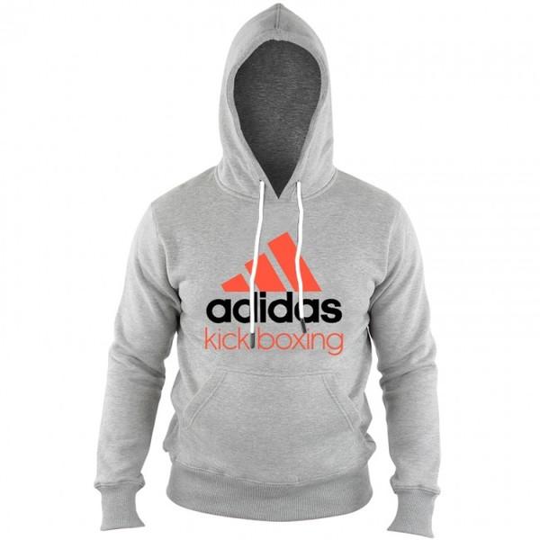 adidas hoodie Community Boxing heren grijs-oranje maat XS