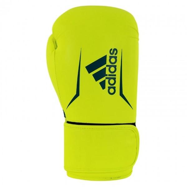 Adidas Speed 100 Bokshandschoenen Geel-blauw 10 oz