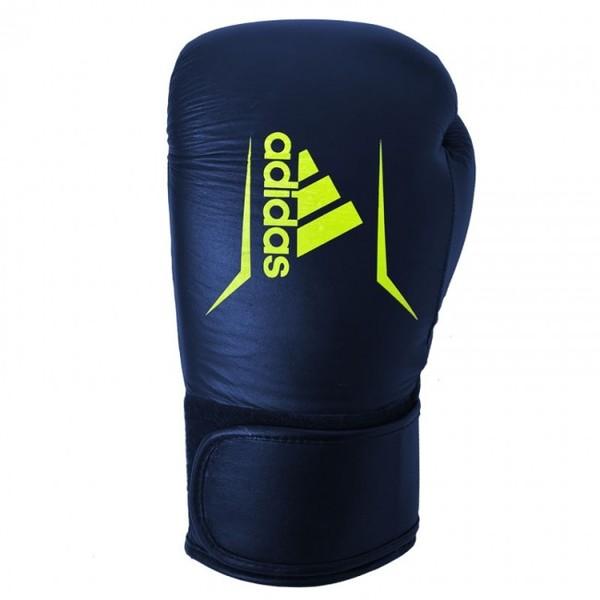 Adidas Speed 175 Bokshandschoenen Blauw-geel 12 oz