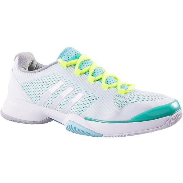 adidas tennisschoenen Barricade 2015 dames wit maat 37 1-3