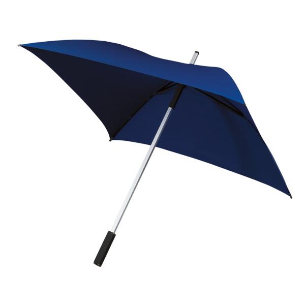 All Square, Vierkante Golfparaplu (kobaltblauw)