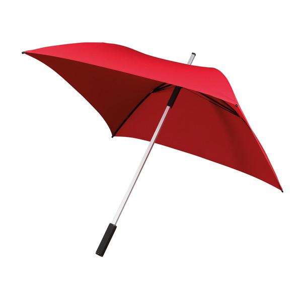 All Square, Vierkante Golfparaplu (rood)