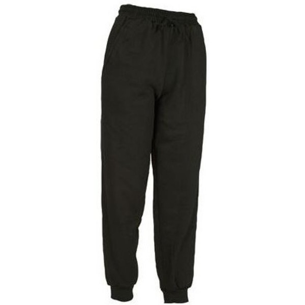 JOGGINGBROEK SENIOR ZWART MAAT S