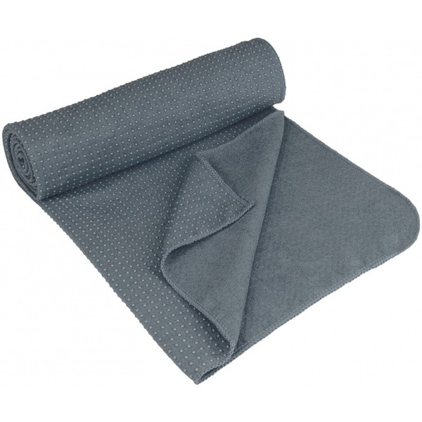Avento Yoga Handdoek Antislip grijs