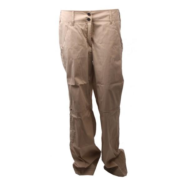 Brax Golf Cargo Niet Stretch Lange Broek Dames Zand Maat 42