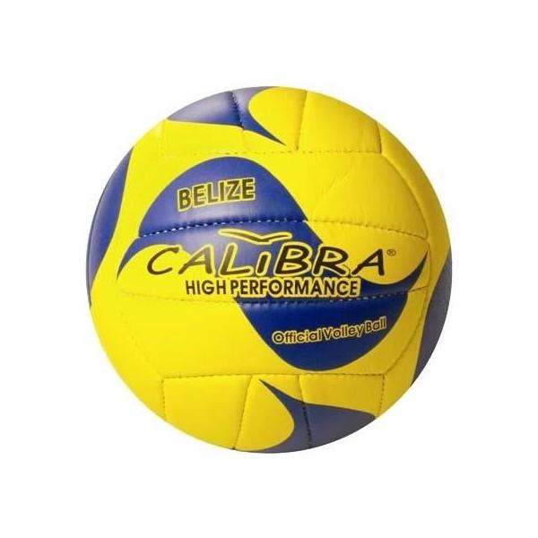 Calibra beachvolleybal Belize geel-blauw maat 5