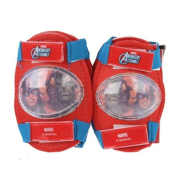 Marvel Elleboog en kniebeschermers Avengers rood/blauw kopen? Sport & Casuals met voordeel vind je hier