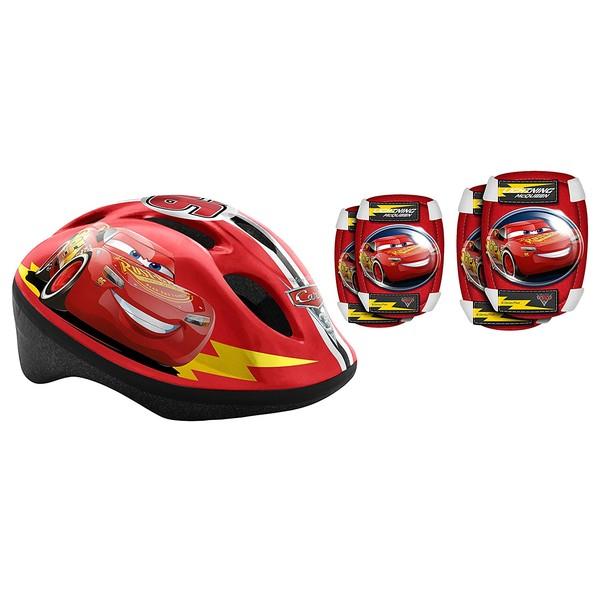 Cars Helmet & Saftyset