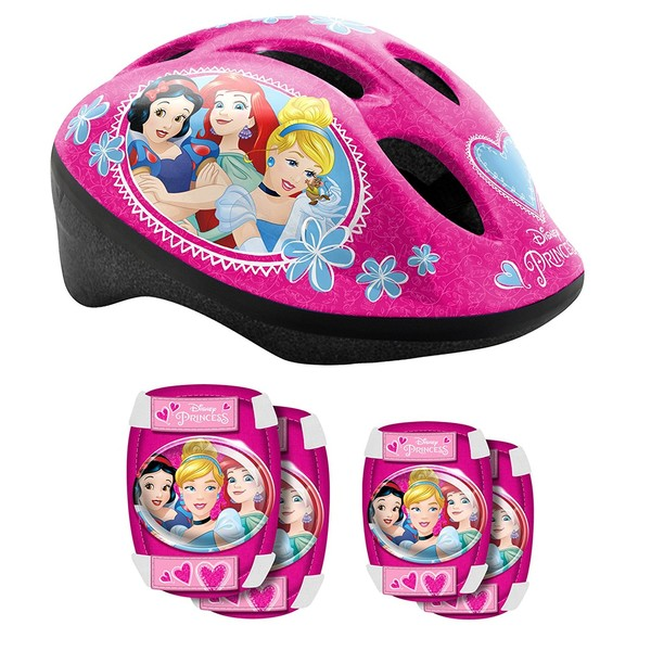 Disney Princess Helmet & Saftyset