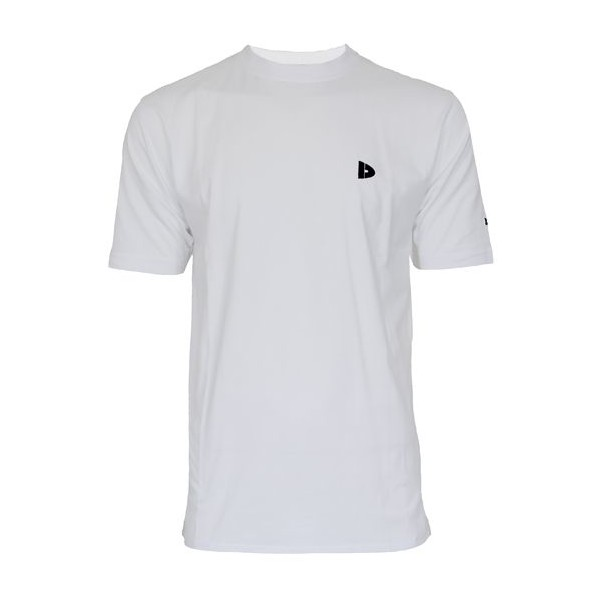 Donnay Linear sport T shirt heren wit maat S