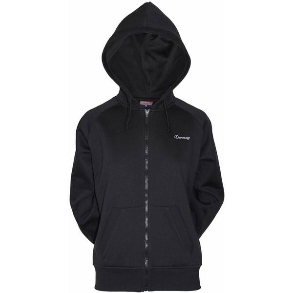 Donnay Hooded fleece vest (D)