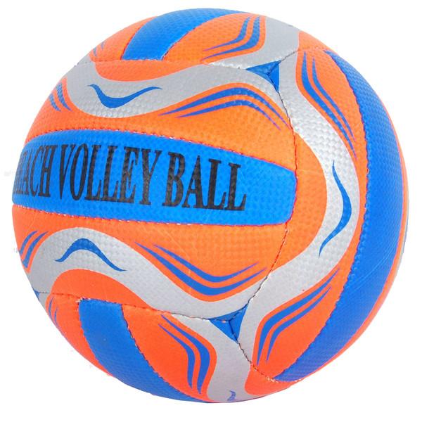 E&L Sports beachvolleybal oranje/grijs maat 5
