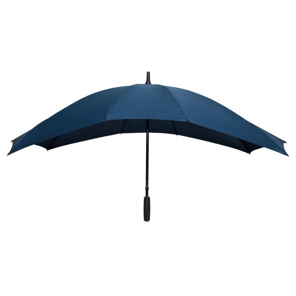 Falcone, Duoparaplu Glasfiber (marineblauw)