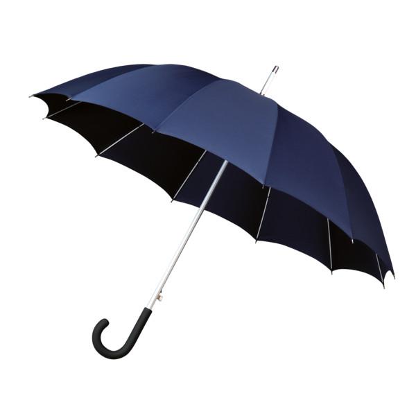 Falcone, Automaat Paraplu Met Haak (marine Blauw)