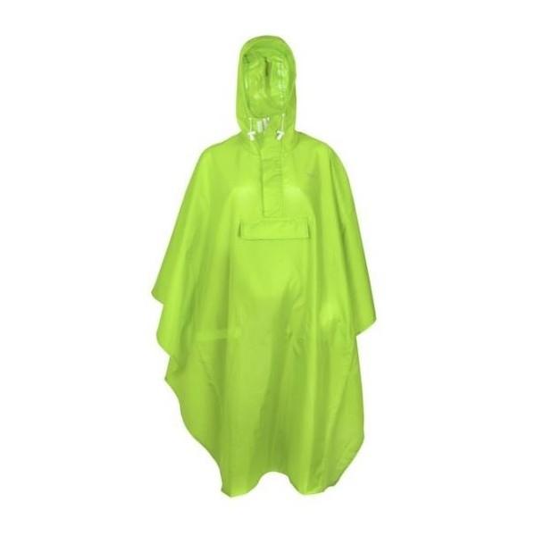 FastRider basic Regenponcho groen one size