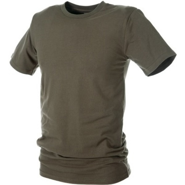 Greenlands T shirt slimfit heren groen maat S