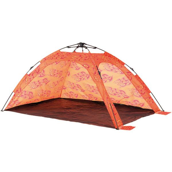 Happy People beachshelter strandtent 215 x 150 x 115 cm oranje