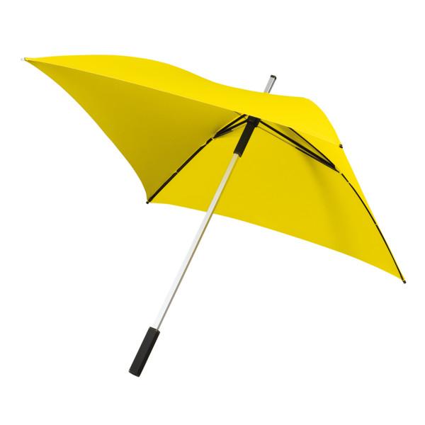 All Square, Vierkante Golfparaplu (geel)