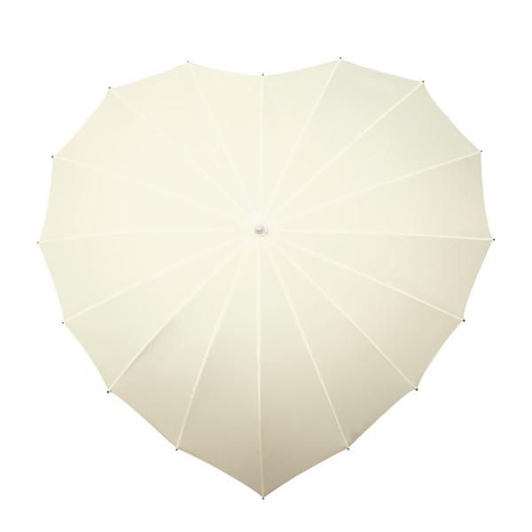Impliva Hartparaplu met UV-Bescherming (Offwhite)