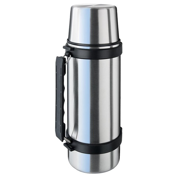 Thermosfles Isosteel Isolierflasche 1 L Edelstahl RVS (glanzend) 1 l