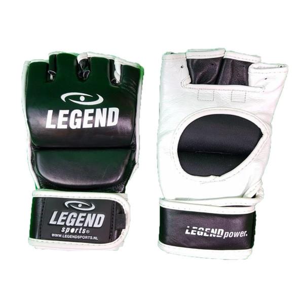 Legend Sports MMA handschoenen Pro Line zwart/wit maat L