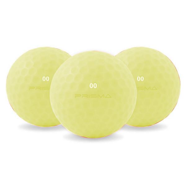 Master Titanium Golf Balls (Bag of 12) Yellow