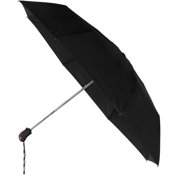 Minimax Auto Open & Close Paraplu Houten Inlay