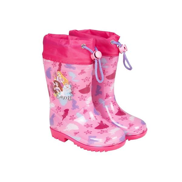 Perletti regenlaarzen Princess junior rubber roze /23