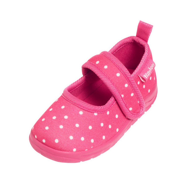 Playshoes instappers stippen meisjes roze maat 22/23