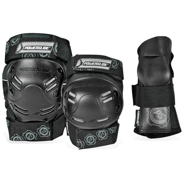 POWERSLIDE Beschermingsset Standaard Men Tri-Pack