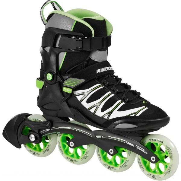 Powerslide Phuzion Skates Zeta Heren Zwart-Groen