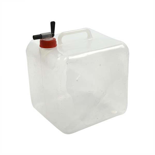 ProPlus opvouwbare jerrycan met kraan 10 liter transparant