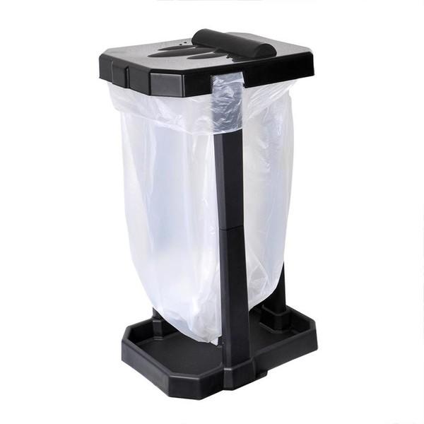 ProPlus vuilniszakhouder camping 70 cm zwart 60 liter