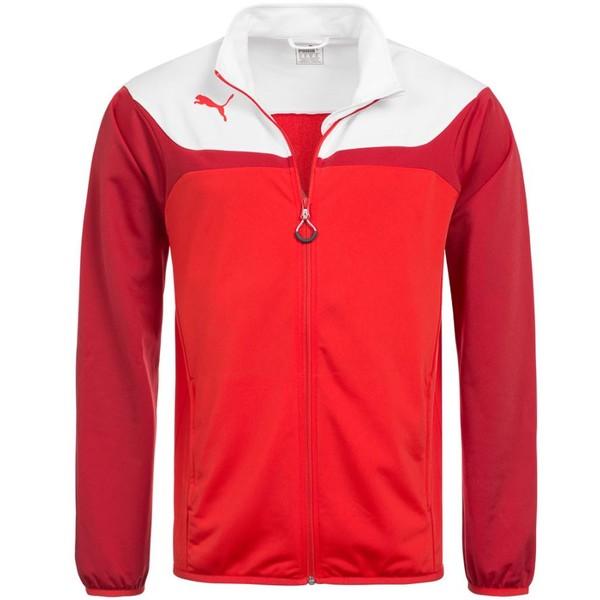 Puma jack Esito 3 junior rood/wit maat 152