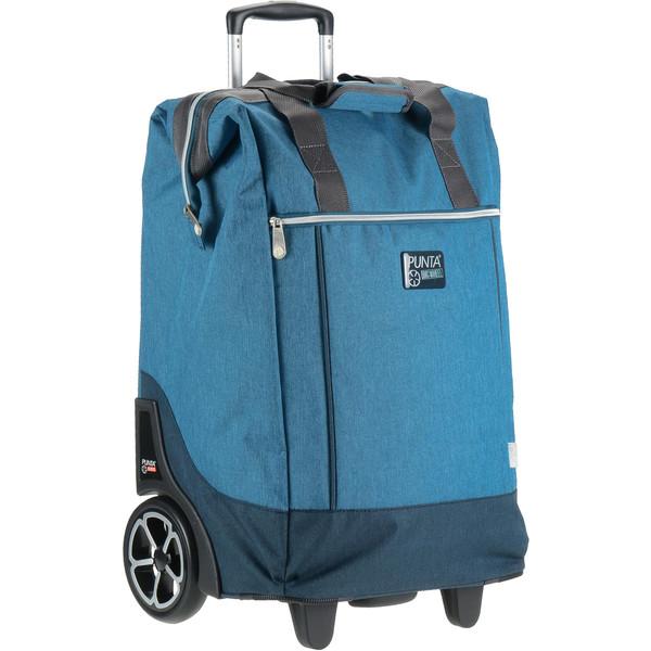Punta trolley shopper Big Wheel blauw 40 liter