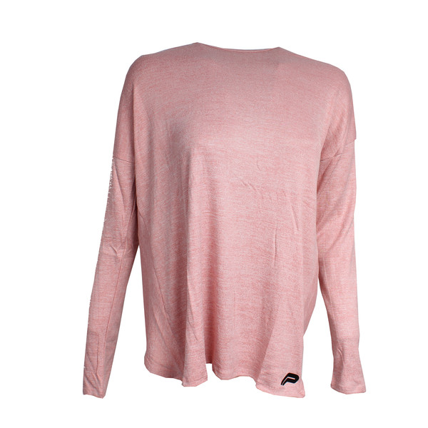 Pursue Fitness cross back sweater roze maat L