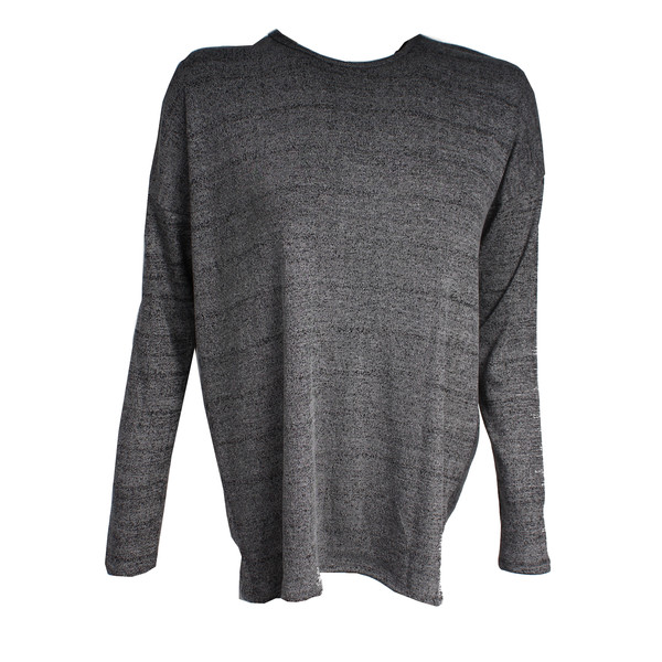 Pursue Fitness cross back sweater zwart/grijs maat L