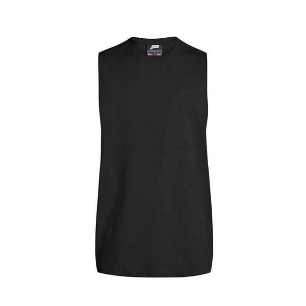 Pursue Fitness tanktop Cut Off heren zwart maat XL